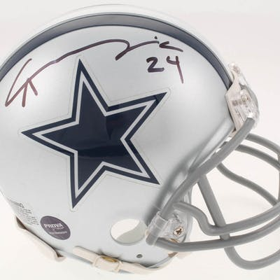 Chidobe Awuzie Signed Dallas Cowboys Mini-Helmet (Prova COA)