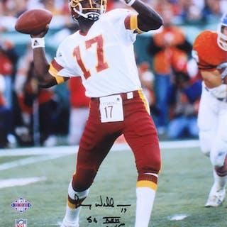 """Doug Williams Signed Washington Redskins 16x20 Photo Inscribed """"SB"""