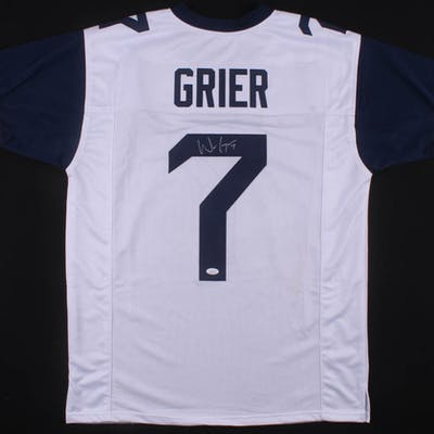Will Grier Signed Jersey (JSA COA)