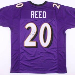 buy online 82e60 af769 Ed Reed Signed Baltimore Ravens Jersey (Beckett COA ...