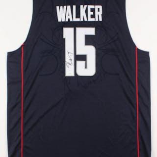 wholesale dealer ad095 026bc Kemba Walker Signed UConn Huskies Jersey (JSA COA) – Current ...