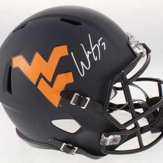 Will Grier Signed West Virginia Mountaineers Full Size