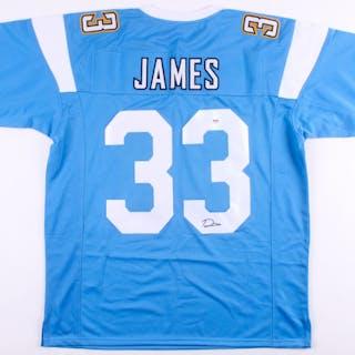 big sale cf7ab e89c4 Derwin James Signed Los Angeles Chargers Jersey (PSA COA ...