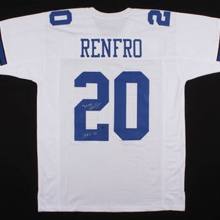 best cheap cc62c 21955 Mel Renfro Signed Dallas Cowboys Jersey Inscribed