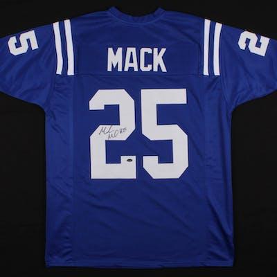 Marlon Mack Signed Jersey (Schwartz COA)