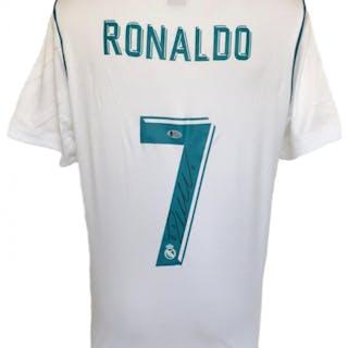 e38326e8e62 Cristiano Ronaldo Signed Real Madrid Adidas Jersey (Beckett COA)