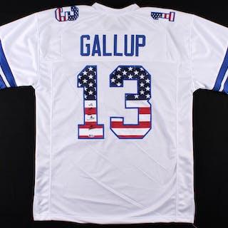 size 40 b26b5 c691c Michael Gallup Signed Dallas Cowboys