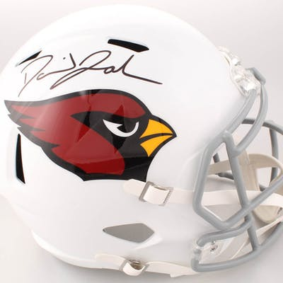 David Johnson Signed Arizona Cardinals Full-Size Speed Helmet (Beckett COA)