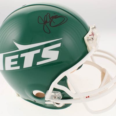 John Riggins Signed New York Jets Full-Size Authentic On-Field Throwback