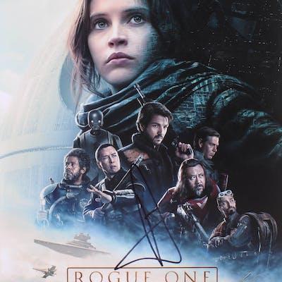 "Donnie Yen Signed ""Rogue One"" 11x14 Photo (Beckett COA)"