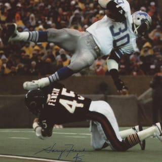 huge selection of 09938 ee8d3 Gary Fencik Signed Chicago Bears 8x10 Photo (Beckett COA ...