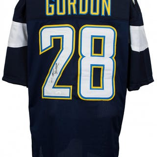 Melvin Gordon Signed Los Angeles Chargers Jersey (JSA COA)