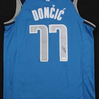 check out b56eb 5713c Luka Doncic Signed Dallas Mavericks Jersey (JSA COA ...
