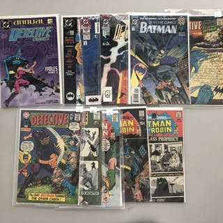 "Lot of (11) 1967-1969 ""Detective"" 1st Series DC Comic Books with #0"