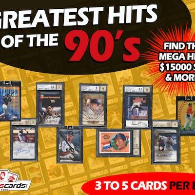 Greatest Hits Of The 90s Baseball Autographs Rare Card Mystery