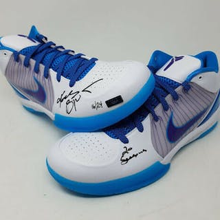 d7036f13a58d Kobe Bryant Signed Nike Kobe 4 Protro Limited Edition Basketball Shoes – Current  sales – Barnebys.com