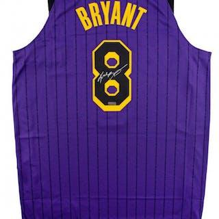 528fe4aba Kobe Bryant Signed Los Angeles Lakers 2019 City Edition Jersey (Panini COA)