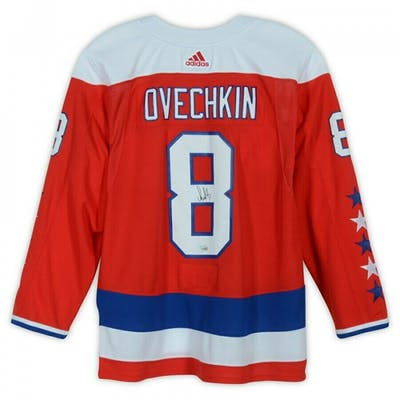 new arrival 42614 20c02 Alexander Ovechkin Signed Washington Capitals Captain Jersey ...