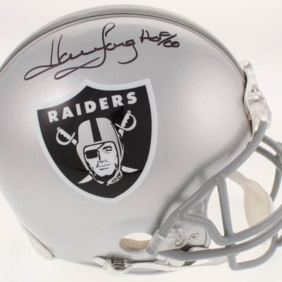 Howie Long Signed Oakland Raiders Full-Size Authentic On-Field Helmet