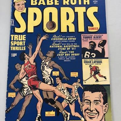 "1951 ""Babe Ruth"" Issue #11 Sports Comics Comic Book"