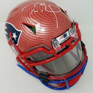 Tom Brady Signed New England Patriots Limited Edition Custom Hydro