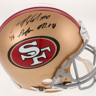 Anquan Boldin Signed San Francisco 49ers Full-Size Authentic On-Field