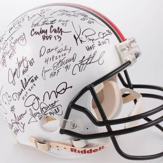 NFL Hall of Fame Legends Full-Size Authentic On-Field Helmet Signed