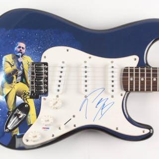 """Post Malone Signed Fender 39"""" Electric Guitar (PSA Hologram)"""