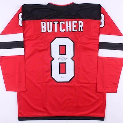 super popular a5e27 66e12 Will Butcher Signed New Jersey Devils Jersey (Beckett COA ...