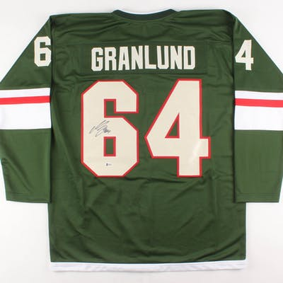 best website ae2eb 5387a Mikael Granlund Signed Minnesota Wild Jersey (Beckett COA ...