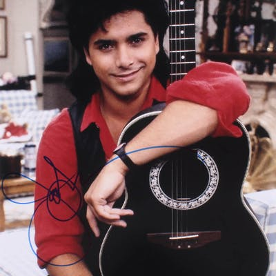 "John Stamos Signed ""Full House"" 11x14 Photo (PSA Hologram)"