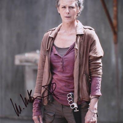 "Melissa McBride Signed ""The Walking Dead"" 11x14 Photo (Beckett COA)"