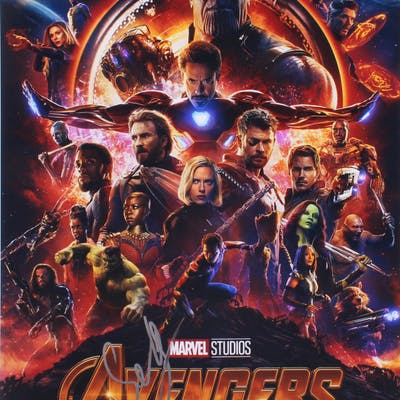 "Sebastian Stan Signed ""Avengers: Infinity War"" 11x14 Photo (PSA COA)"