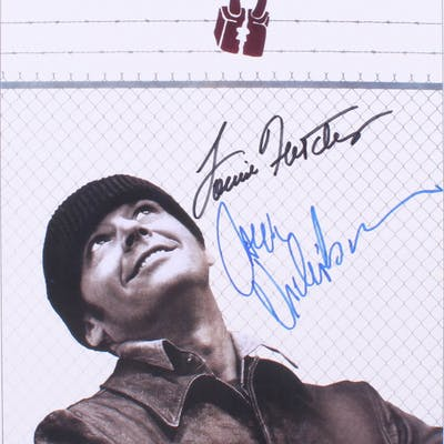 """Jack Nicholson & Louise Fletcher Signed """"One Flew Over The Cuckoo's"""
