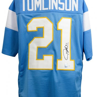online retailer 434b4 bacc4 LaDainian Tomlinson Signed San Diego Chargers Jersey (JSA ...