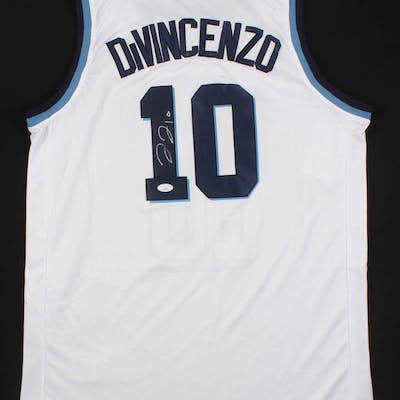 Donte DiVincenzo Signed Villanova Wildcats Jersey with 2018 Final