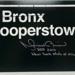 """Mariano Rivera Signed """"Bronx to Cooperstown"""" 10x20 Limited Edition"""