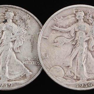 1934-S WALKING LIBERTY HALF DOLLAR, CH BU+ – Current sales