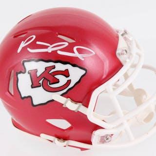 261b5d8016e Patrick Mahomes Signed Kansas City Chiefs Speed Mini Helmet (JSA COA) –  Current sales – Barnebys.com