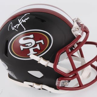 new products ebda9 5df6c Ronnie Lott Signed San Francisco 49ers Matte Black Speed ...