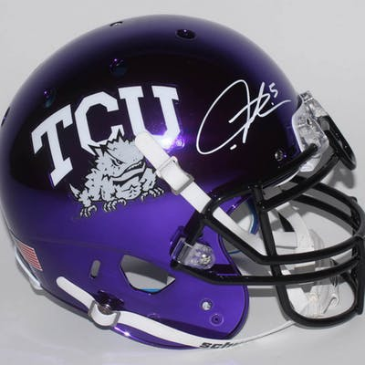 LaDainian Tomlinson Signed TCU Horned Frogs Full-Size Authentic On-Field