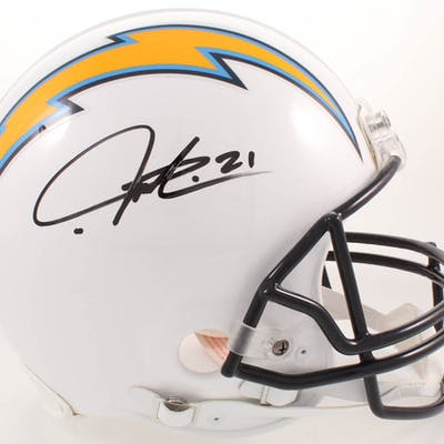 finest selection 3e231 0510d LaDainian Tomlinson Signed San Diego Chargers Full-Size ...