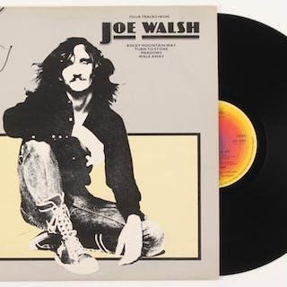 "Joe Walsh Signed ""Four Tracks from Joe Walsh"" Vinyl Record Album (REAL"