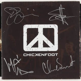 """Chickenfoot """"Chickenfoot"""" Vinyl Record Album Signed by (4) with Sammy"""