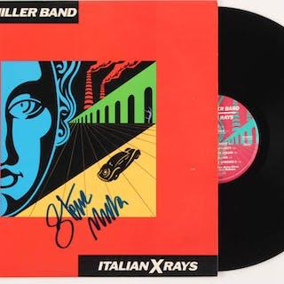 """Steve Miller Signed Steve Miller Band """"Italian X Rays"""" Vinyl Record"""