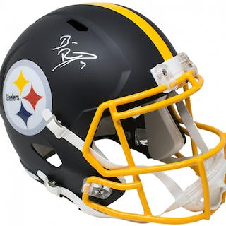 Ben Roethlisberger Signed Pittsburgh Steelers Full-Size Matte Black