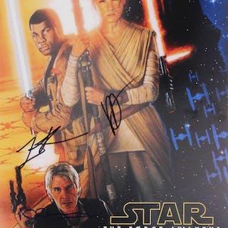 "J.J. Abrams, Lawrence Kasdan & Neal Scanlan Signed ""Star Wars: The"