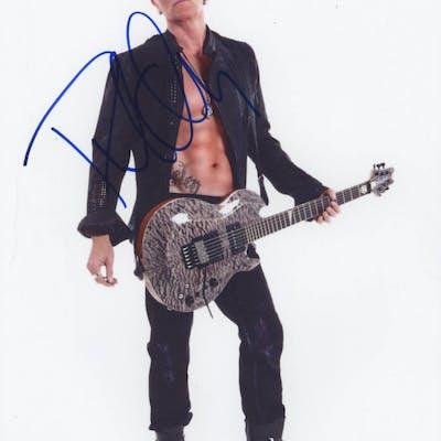Phil Collen Signed 8.5x11 Photo (PSA COA)
