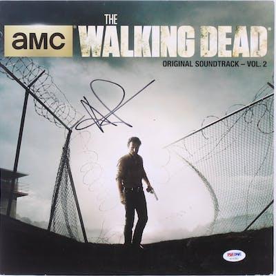 "Andrew Lincoln Signed ""The Walking Dead: AMC Original Soundtrack"
