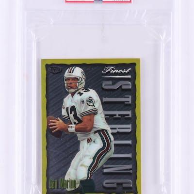 huge discount 0d82e 1e221 1996-97 Finest Pro Bowl Jumbos #6 Dan Marino (PSA 9) | Barnebys